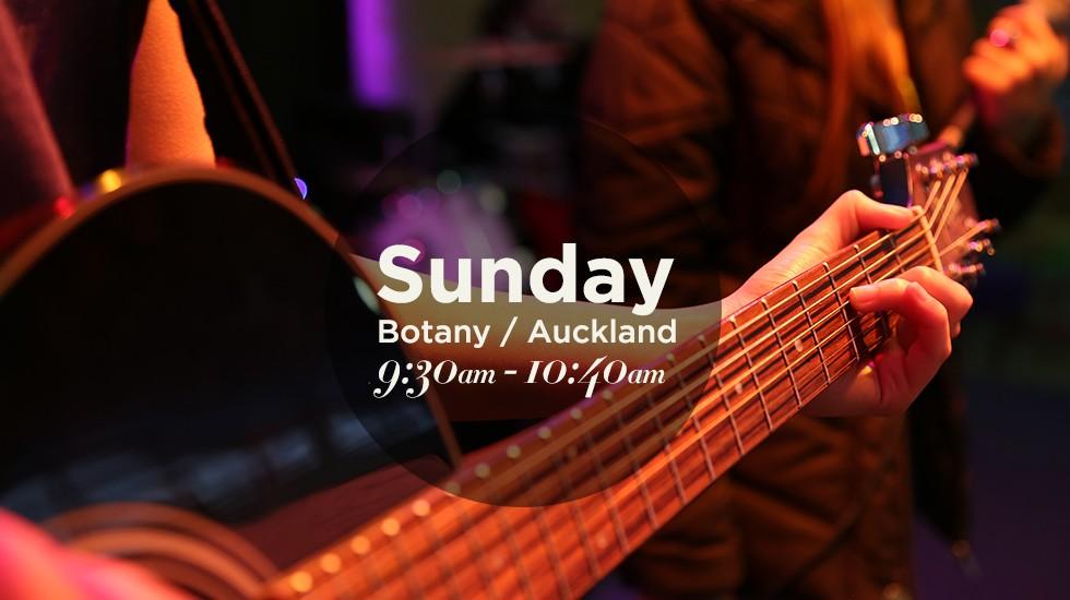 Botany Church Service - Sunday